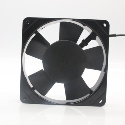 What should I do if the cooling fan is noisy and the shaft position does not rotate?